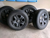 Honda Winter rims and tires