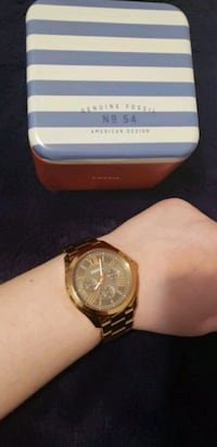 Rose gold fossil watch  Scarborough, M1L 3E8