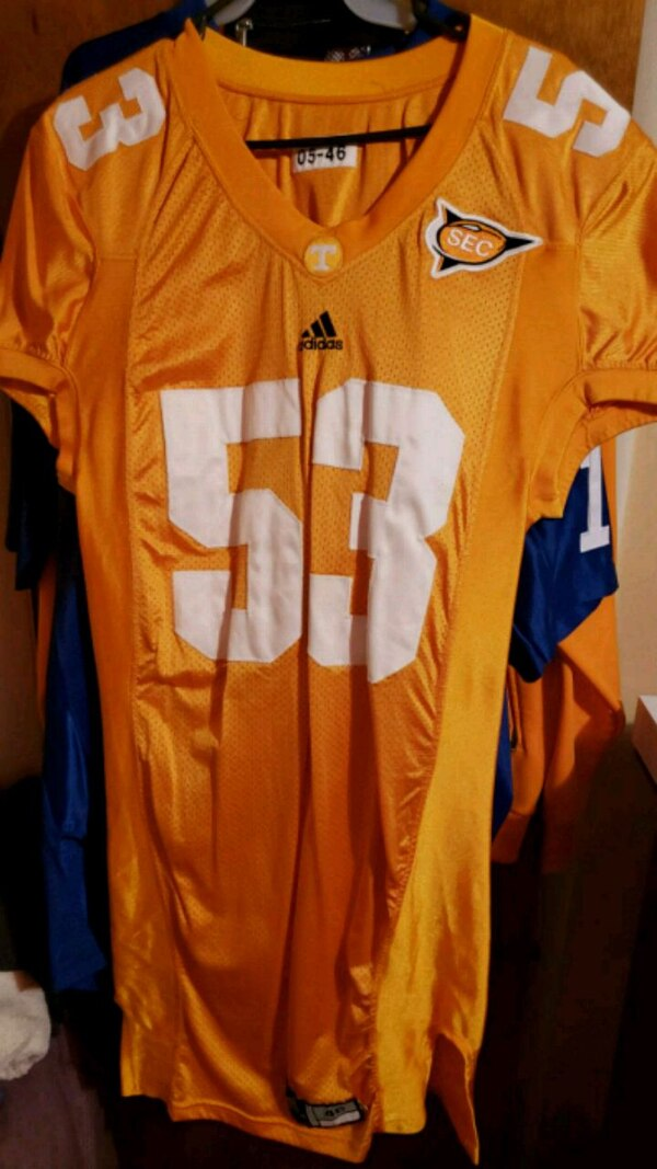 the best attitude 85558 fdf3d Tennessee Volunteers Game Worn Jersey