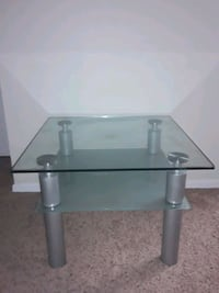 thick glass table