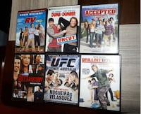 Dvd's $5 each or $20 for all