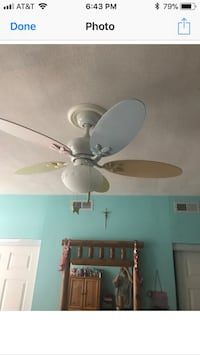 Fan white blades on other side. Paid over $150 Pittsburgh, 15203