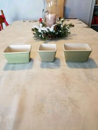 NEW..Longaberger set of 3 Pottery, Hagerstown, 21740