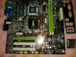 Brand new in the box XFX nforce 630i geforce motherboard