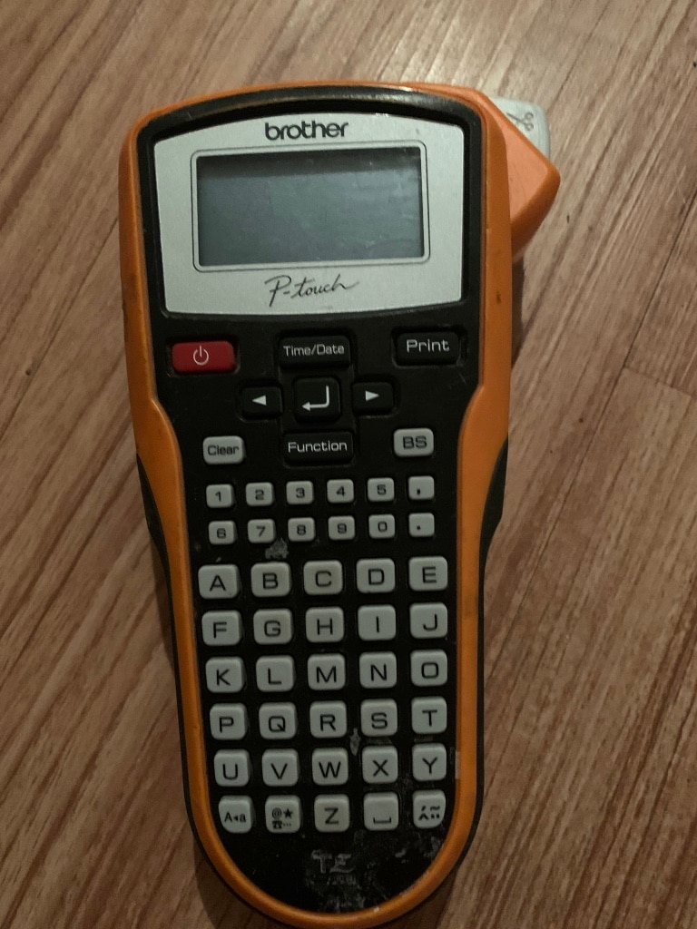 Photo Brother P touch label maker printer