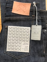 High-end, raw selvedge denim. 3sixteen SL-130x Straight Leg - Heavyweight Indigo. Retails for $190. Brand new with tags. Unaltered and unworn. Washington, 20009