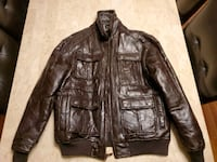 Faux leather jacket Clinton