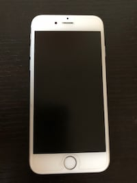Used iPhone 6 silver with free charger and headphones San Gabriel, 91776