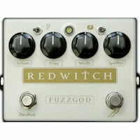 Red Witch Fuzz God II Distortion Pedal