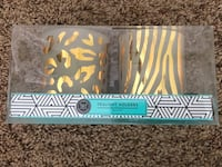 Brand new set of 2 Modern Expressions Tealight Holders