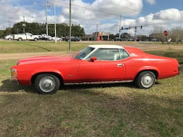 1972 Mercury  Cougar XR7