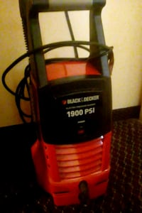 black and red Craftsman pressure washer Indianapolis, 46226