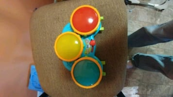Electronic musical drum