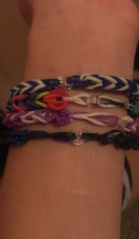 blue, red, and white loom bands Reno, 89506