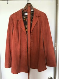 Suede jacket Chevy Chase