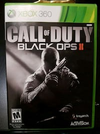 Xbox 360 Call of Duty Black Ops 2 game case Toronto, M1P 5C1