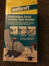 Wolcraft StationaryDrill/Hobby Tool Holder  Superior, 54880