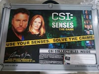 CSI board game with booster set