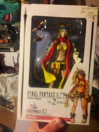 Final fantasy 10-2 figure Tampa, 33610
