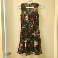 Like New Floral Dress with Lace - size xs Vancouver, V5R 5L2