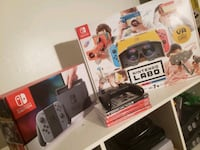 Nintendo Switch + LABO VR games and more!