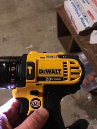 yellow and black DEWALT cordless power drill Belleville, K8N 4Z6