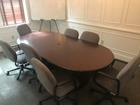 Office table with chairs Hampton, 23666