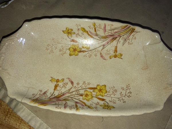 Antique Vintage Wedgwood Plate, possible corn plate
