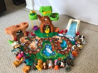 Little people animal alphabet zoo toy play set for toddlers/preschool Reston, 20194