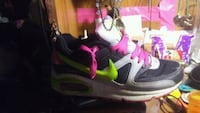 pair of black-and-pink Nike running shoes Granite City, 62040