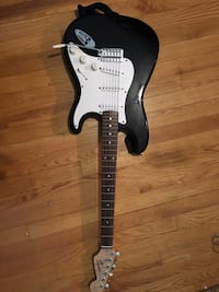 Fender STRATOCASTER Solid Body Electric Guitar BLACK Parma Heights, 44130