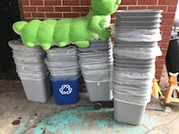 Trash cans Baltimore, 21226
