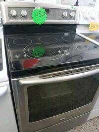 black and gray induction range oven Laval, H7G 2S3