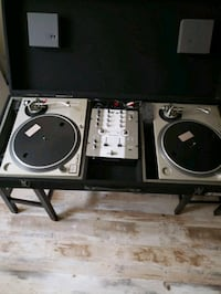 technics turntables for djs with out mixer