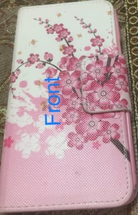 Pink and white floral Samsung 5s case 538 km