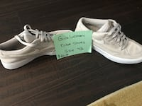 pair of white Adidas low-top sneakers Chino Hills, 91709
