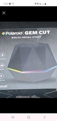 Polaroid bluetooth speaker