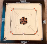 Carrom board with coins and strikers Leesburg, 20176