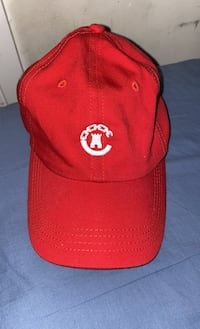 Red Crooks and castles adjustable hat