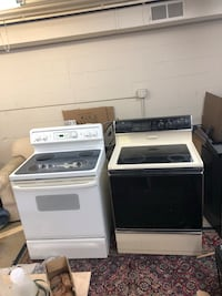 White Spectra and Tan Whirlpool Electric Stoves Strongsville, 44149