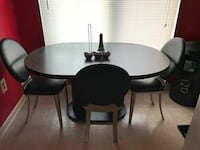 Kitchen table and chairs MUST PICK UP Damascus, 20872