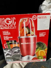 Magic Bullet blender box