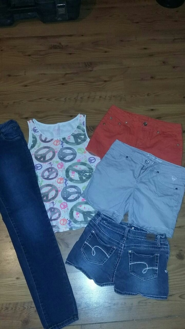 5472e0c7ac3 Used Justice girls clothes 14/16 LN for sale in Jacksonville - letgo