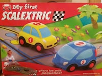 MY FIRST SCALEXTRIC - MI PRIMER CIRCUITO