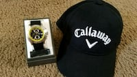 Callaway golf watch cy2071 and hat New Castle, 16101