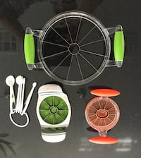 3 Fruit Cutters with measuring spoons Las Vegas, 89139