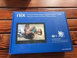 Nix widescreen digital frame x10H