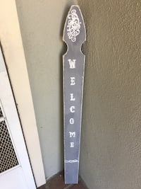 Rustic welcome sign  Simi Valley, 93065