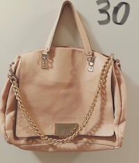 brown leather 2-way handbag 코퀴틀람, V3K 1Z8