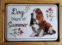 BASSET Wall Hanging - Dog Days of Summer